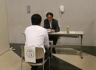 能美RC活動報告-2-180822(水)寺井高校就職模擬面接.JPG